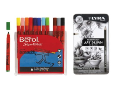 Creative Company - Markers, crayons, pencils and office supplies