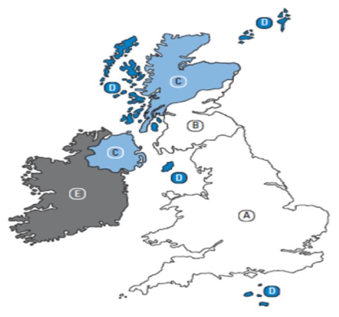 Delivery-zones-postcode-Map