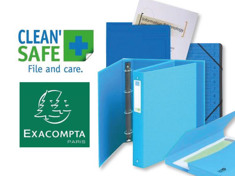Exacompta Clean'Safe Range