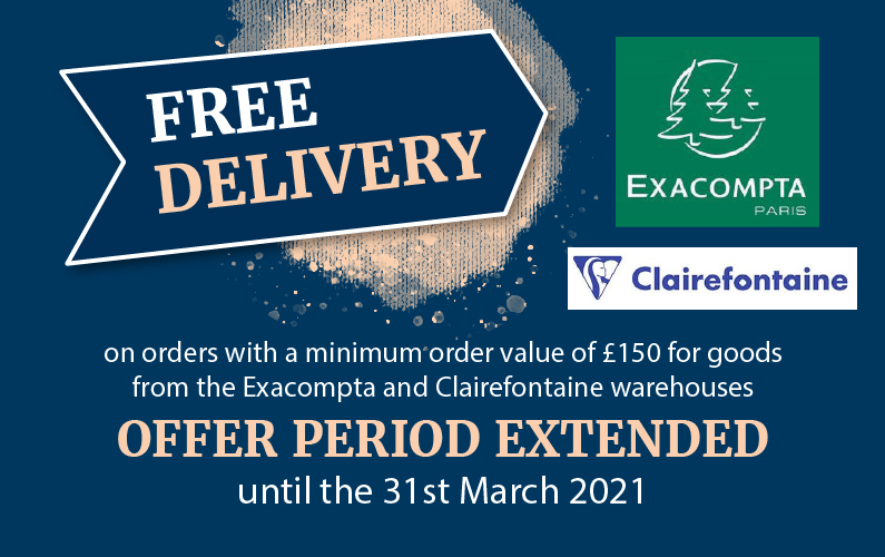 Exaclair FREE Delivery Offer Extended till 31st March 2021