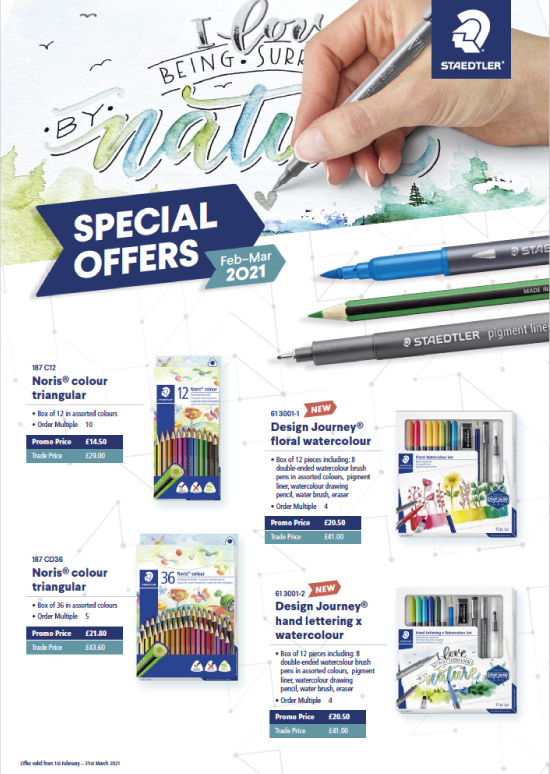 STAEDTLER Feb - March Offers 2021