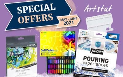Artstat Offers May – June