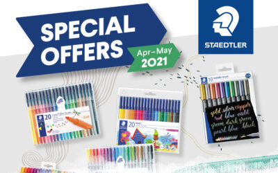 STAEDTLER April – May Offers