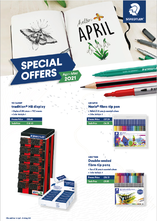 STAEDTLER Special Offers April - May 2021