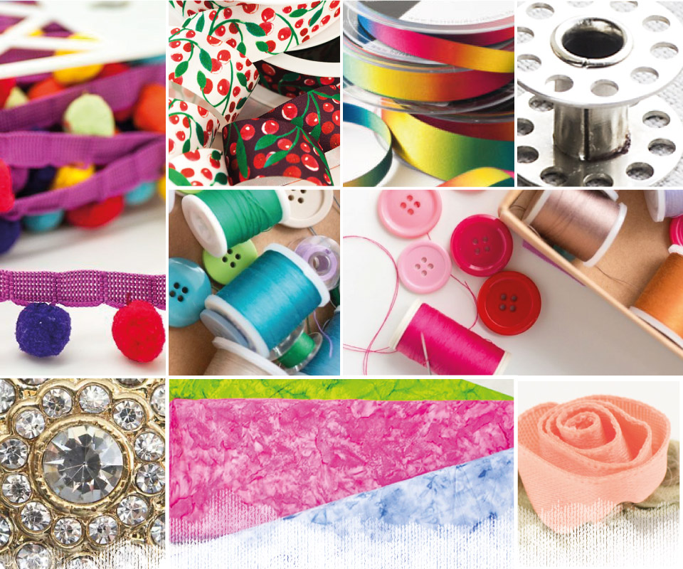 Jomil - Suppliers of a wide range of high quality haberdashery, fabrics and upholstery products to trade customers.