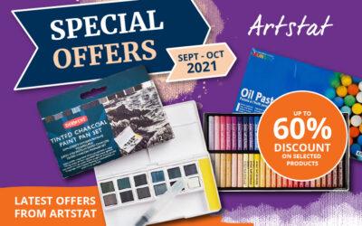 Artstat Latest Offers Sept-Oct