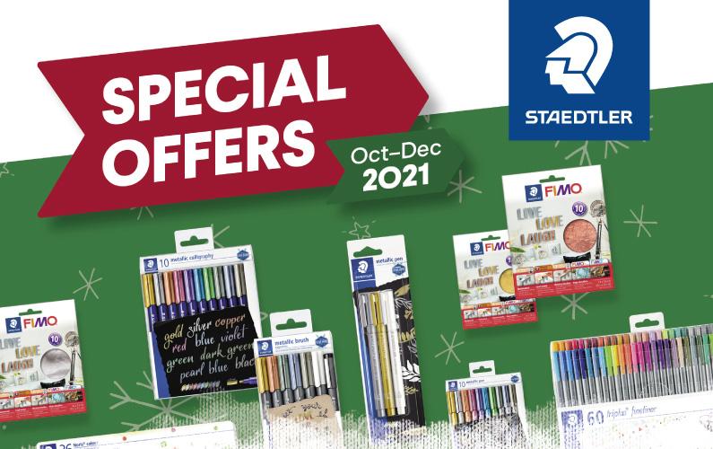 STAEDTLER Special Offers Oct-Dec